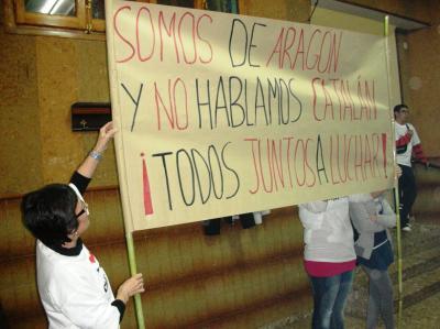 CHA Y LOS CATALANISTAS HACEN EL RIDÍCULO EN LA CODOÑERA