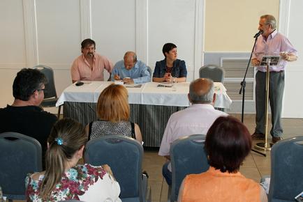 Raúl Vallés, homenajeado en el Día de la Lengua Aragonesa
