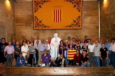 Monzón se convierte en la capital de la Corona de Aragón durante un fin de semana