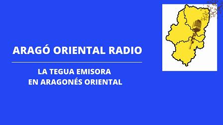 Naix una emisora de radio en aragonés oriental